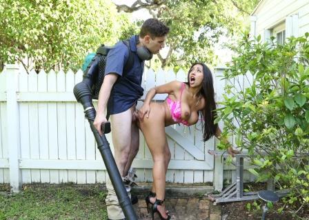 husband using dildo on wife
